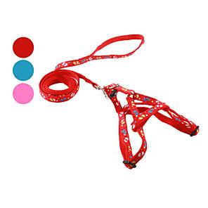 ieftine Ustensile & Gadget-uri de Copt-Câine Hamuri Lese Alunecare Amprentă picior textil Rosu Albastru Roz