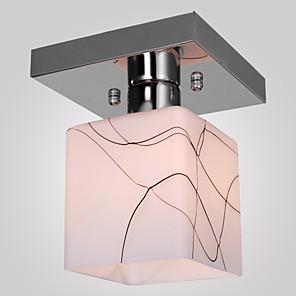 "ieftine Role Pescuit-1-light sl® 15 (6 "") mini stil flush light mounts metal glass electroplated modern contemporan 110-120v / 220-240v / e26 / e27"