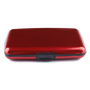 ieftine Ștanțare-7-strat impermeabil caz buzunar id afaceri card de credit titular portofel (6 culori disponibile)