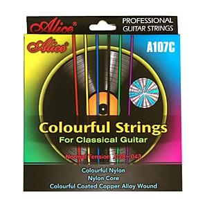 ieftine Instrumente & Accesorii-alice - (a107c) siruri de caractere colorate chitara clasica (028-043)