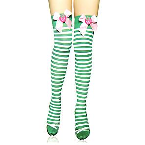 ieftine Costume film & teme TV-Pentru femei Sweet Lolita Șosete / ciorapi Ciorapi strâmți, lungi Dungi Lolita Accesorii / Înaltă Elasticitate
