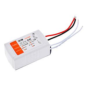 ieftine Driver LED-110-240 V Plastic Convertor de Voltaj 18 W