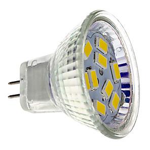 ieftine Spoturi LED-2 W Spoturi LED 200 lm GU4(MR11) MR11 9 LED-uri de margele SMD 5730 Alb Cald 12 V