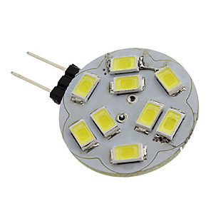 ieftine Spoturi LED-1.5 W Spoturi LED 6000 lm G4 9 LED-uri de margele SMD 5730 Alb Natural 12 V