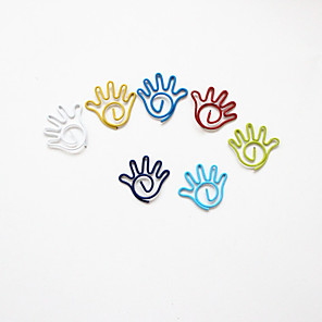 ieftine Materiale De Album De Amintiri-palmier stil agrafe colorate (de culoare aleatorii, de 10-Pack)