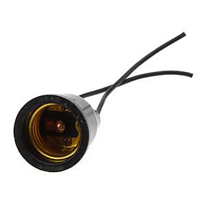 olcso Lámpa aljzatok-E27 100-240 V Vízálló / 90 ° C hőálló Műanyag / Rézdrót Fény izzó / Lámpatartó Otthoni / Szabadtéri / a DIY projektekhez