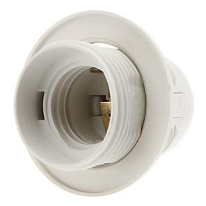 olcso Lámpa aljzatok-e27 alapcsavar csavaros menetes foglalat (fehér)