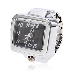 ieftine Ceasuri Damă-Pentru femei Ceas inel Piața de ceas Quartz Argint Ceas Casual femei Charm - Alb Negru Un an Durată de Viaţă Baterie / SSUO SR626SW