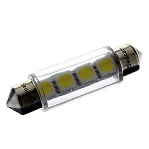 ieftine Becuri De Mașină LED-Festoon Mașină 1 W SMD 5050 6000-6500 k Lumini de citit / Lumini pentru numerele de înmatriculare