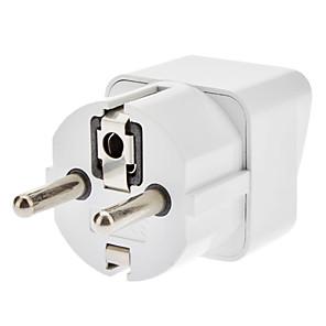 ieftine Cabluri de Adaptor AC & Curent-UE Travel AC Power Adapter albă