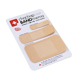 ieftine Caiete & Bilete Lipicioase-bandă de design specială pentru forma de bandă de hârtie drăguță pentru școală / birou
