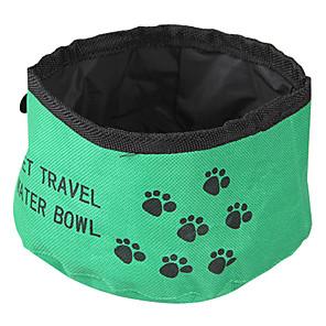 ieftine Câini Articole şi Îngrijire-Pisici / Câine Boluri & Sticle de Apă Animale de Companie  Castroane & Hrănirea Pliabil Rosu / Verde / Albastru