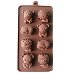 ieftine Ustensile & Gadget-uri de Copt-1 buc Silicon #D Reparații Tort Biscuiți Plăcintă Animal coacere Mold Instrumente de coacere