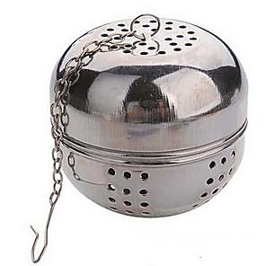 levne Čajové náčiní-Multifunkční čaj průměr 5,5 cm nerez míč zamykání infuser sítko varné konvice