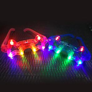 ieftine Gadget-uri De Glume-Strălucitor LED Ochelari de jucărie Night Market (Random Color)