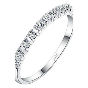 ieftine Inele-Pentru femei Inel de declarație Argintiu Aliaj Nuntă Bijuterii / Ștras