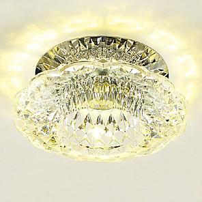 ieftine Becuri LED Plafon-10 cm cristale / mini stil / lumini leduri de montaj la nivel modern contemporane 110-120v / 220-240v