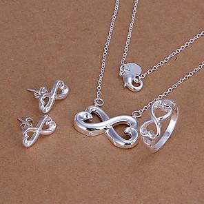 ieftine Seturi de Bijuterii-simboluri infinit set de bijuterii de argint
