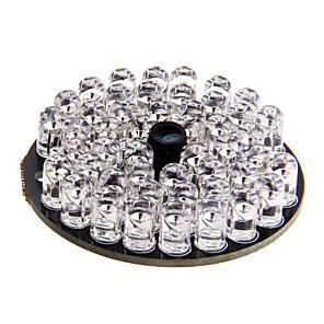 ieftine Becuri LED Glob-Lampă Infraroșie De Iluminat 48LED Board for 60mm Shell CCTV Security Camera pentru Securitate sisteme 4.6*4.6*1.5cm 0.02kg