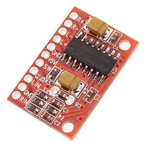 cheap Modules-3W High Power Mini Digital Amplifier Board With 2 Channel