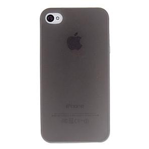 ieftine Carcase iPhone-Maska Pentru iPhone 4/4S / Apple iPhone 4s / 4 Capac Spate Moale TPU