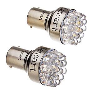 ieftine Car Signal Lights-SO.K 10pcs Conexiune prin cablu Mașină Becuri 3 W F3 150 lm 12 LED coada de lumină Pentru Παγκόσμιο