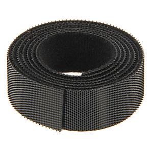 ieftine Organizatoare de Cablu-magie bandă negru 100m * 20mm pentru gestionarea firului