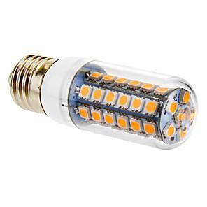 ieftine Becuri LED Corn-Becuri LED Corn 720 lm E26 / E27 T 48 LED-uri de margele SMD 5050 Alb Cald 220-240 V / #