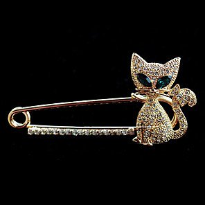 cheap Puppets-Women's Fashion Crystal Brooch Jewelry For Wedding Party Daily