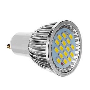 ieftine Spoturi LED-4 W Spoturi LED 350-400 lm GU10 16 LED-uri de margele SMD 5730 Alb Rece 85-265 V / CE