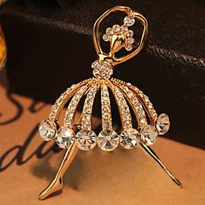 ieftine Ustensile Bucătărie & Gadget-uri-Pentru femei Modă Cristal Broșă Bijuterii Auriu Pentru Nuntă Petrecere Zilnic
