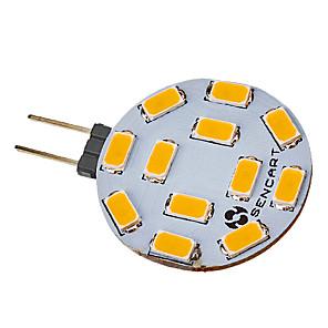 ieftine Becuri LED Bi-pin-1 buc 5 W Spoturi LED 550-600 lm G4 12 LED-uri de margele SMD 5730 Alb Cald 220-240 V