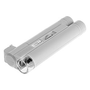Недорогие Лупы-100x бинокулярный микроскоп mg10085-1 led manual aa battery