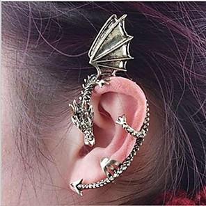 ieftine Cercei-Pentru femei Cătușe pentru urechi Balaur femei Personalizat cercei Bijuterii Auriu / Argintiu Pentru Petrecere Zilnic Casual