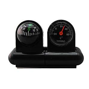 ieftine Instrumente de Precizie-Car-folosit termometru și Compass 2-in-One
