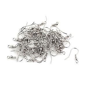 ieftine Kit-uri de Bijuterii-Durabil din aliaj de argint Carlige 100 buc / sac