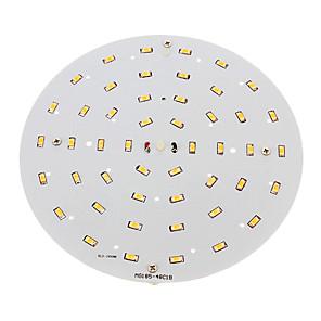 ieftine Becuri LED Plafon-1 buc 10 W 1500-1700 lm 48 LED-uri de margele SMD 5730 Alb Cald 100-240 V / RoHs