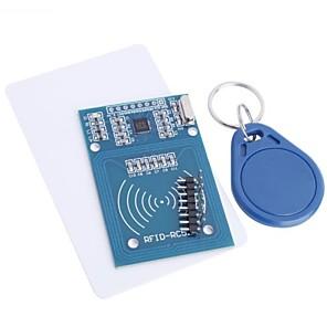 ieftine Senzori-rfid-rc522 modul rfid rc522 kituri s50 13.56 mhz 6cm cu etichete spi scrie& citiți pentru zmeura pi