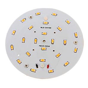 ieftine Becuri LED Plafon-1 buc 10 W 800-900 lm 24 LED-uri de margele SMD 5730 Alb Cald 220-240 V / RoHs