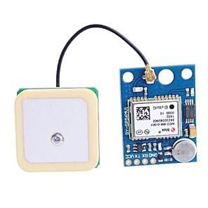 ieftine Spoturi LED-GY-GPS6MV1 Modulul GPS APM2.5 cu antena - Deep Blue (3 ~ 5V)