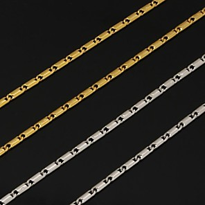 ieftine Colier la Modă-Pentru femei Lănțișoare femei Modă Placat cu platină Placat Auriu Aur alb Argintiu Auriu Coliere Bijuterii Pentru Nuntă Petrecere Zilnic Casual