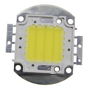 저렴한 LED 제품-zdm 1pc diy 30w 2800-3200lm 따뜻한 흰색 차가운 흰색 자연 흰색 3000-6500k 빛 통합 led 모듈 (dc33-35v 0.8a) 빛을 투사하는 가로등 구리 브래킷의 골드 와이어 용접