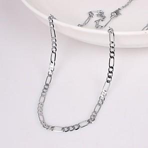 ieftine Coliere-Bărbați Lănțișoare Design Unic Modă Aliaj Argintiu Coliere Bijuterii Pentru Nuntă Petrecere Cadou Zilnic Casual Sport