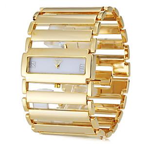 ieftine Ceasuri Damă-Pentru femei Ceas Brățară ceas de aur Piața de ceas Japoneză Oțel inoxidabil Argint / Auriu Ceas Casual femei Lux Elegant - Auriu Argintiu