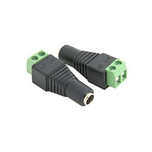 ieftine Îngrijire Unghii-10 buc IDC Tip 2.1 x 5.5mm DC Plug Femeie Jack Adaptor Conector gratuit lipit pentru CCTV Transport Gratuit