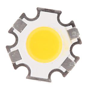 ieftine Ustensile de Reparat-zdm® 1pc de înaltă performanță led / cob cald alb 280-320 lm luminos / bulb accesoriu corp silicon complet / sârmă de aur pur a condus led chip 3 w