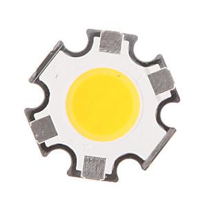 ieftine Driver LED-zdm 5w 400-450 lm hexapod circular cob cob led sursă de lumină luminescență diametru suprafață 11mm alb cald (dc15-17v, 280ma)