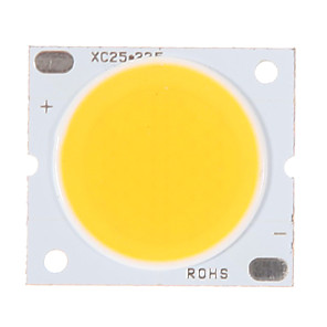 ieftine LED-uri-zdm® 1pc 30w cob integrat condus de cald alb 3000-3500k 2800-3000 lm luminos pur sârmă de aur a condus cip LED pentru suprafața luminescente 20mm (dc30-34v 800-900ma)