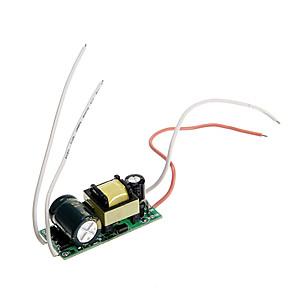 ราคาถูก ไดรเวอร์ LED-85-265 V Plastic + PCB + Water Resistant Epoxy Cover Power Supply 8 W