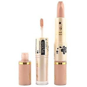 ieftine Spoturi LED-Într-o Culoare Lichid Concealer / contur Uscat / Ud / Sclipici Albire / Umezeală / Anticearcăn Faţă Machiaj Cosmetic